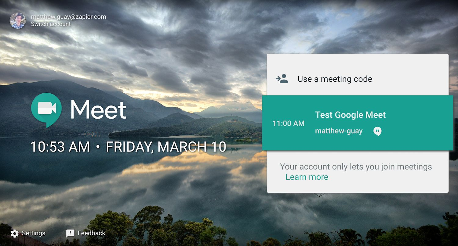 google meet vs hangout