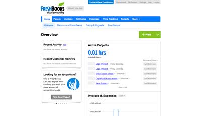 FreshBooks Classic Screenshot (1)