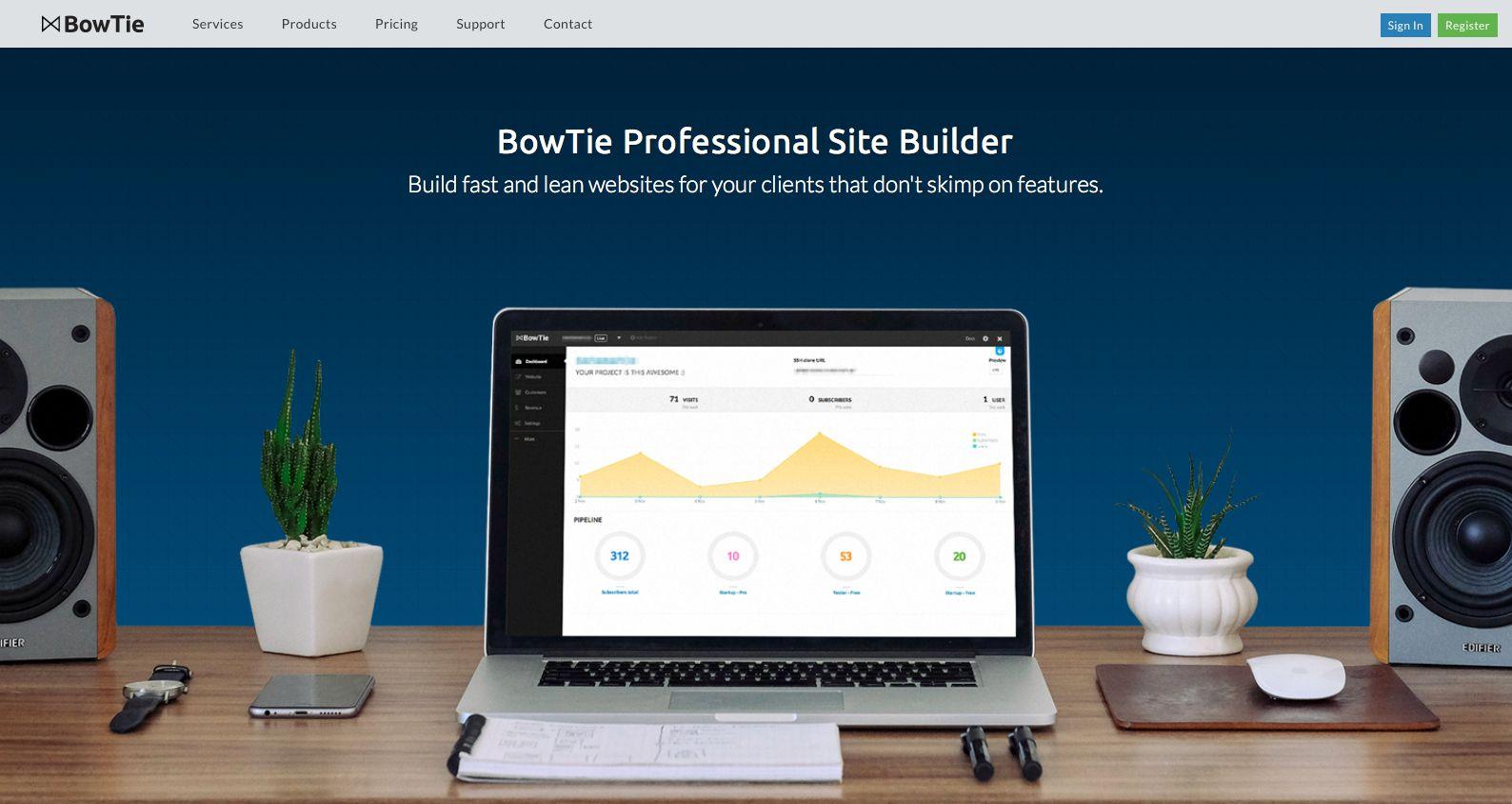 BowTie.io Screenshot