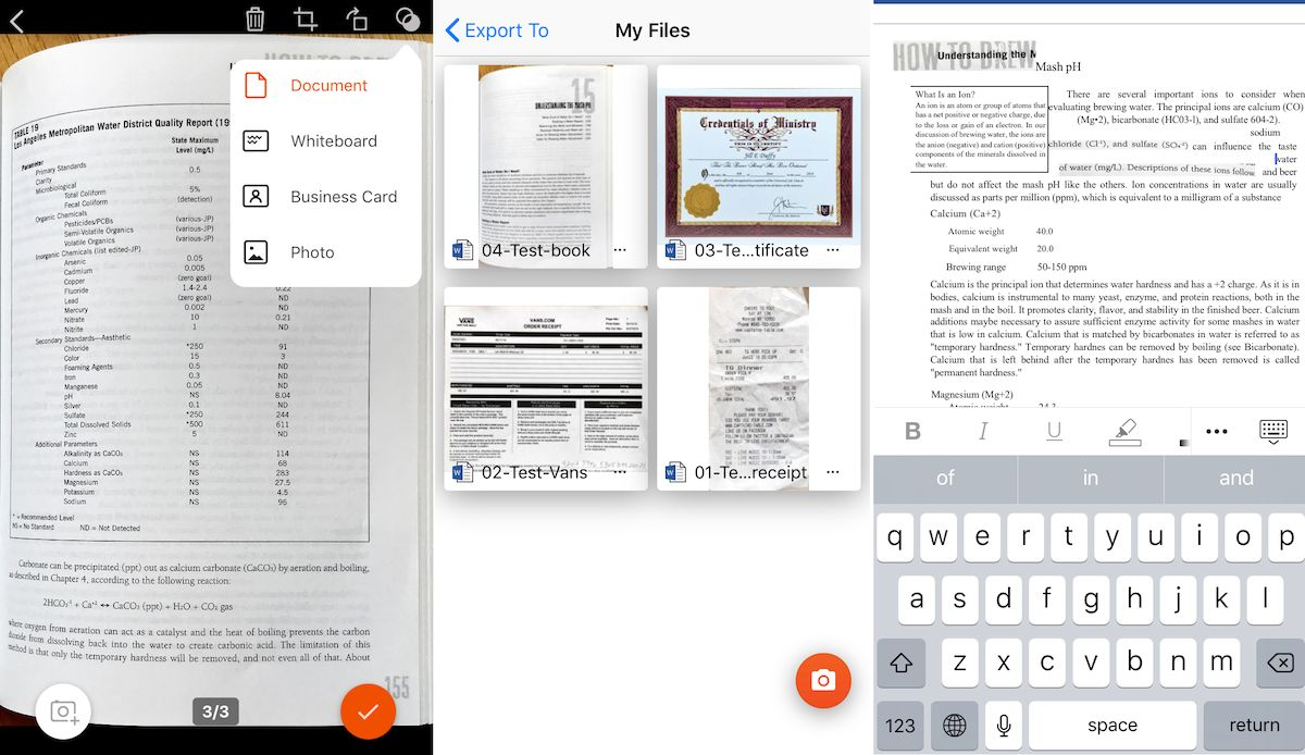 The Best Apps for Mobile Scanning and OCR