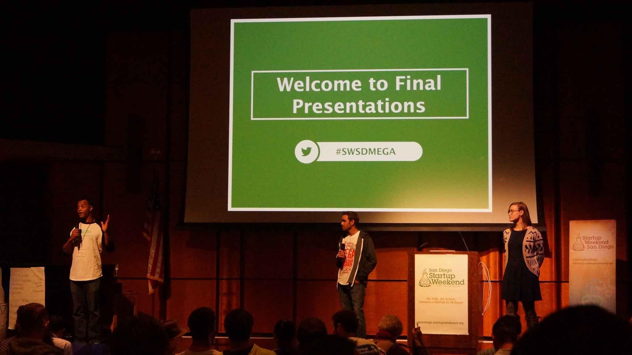 Startup Weekend final presentations