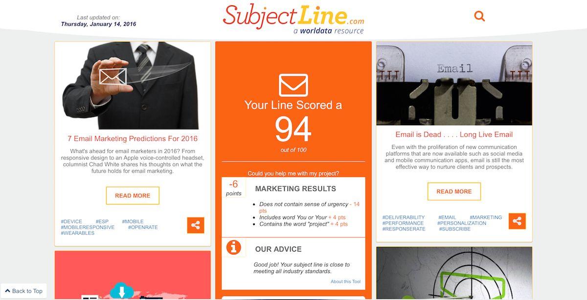 SubjectLine.com