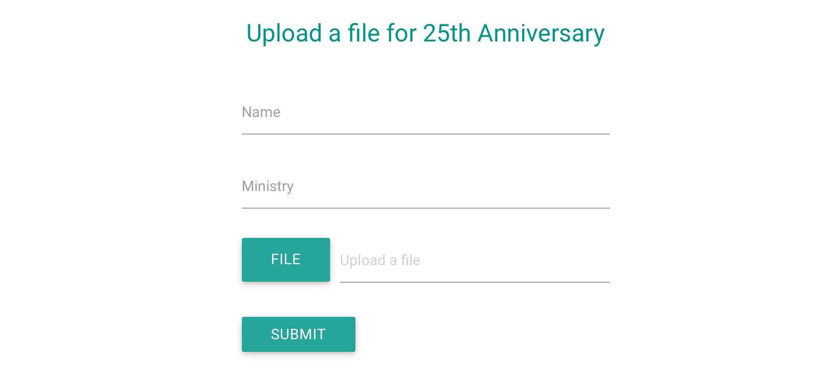 Receive files in a Google Form