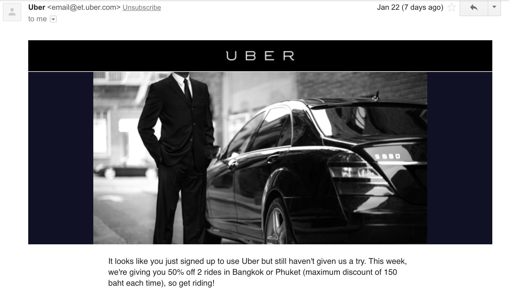 uber email