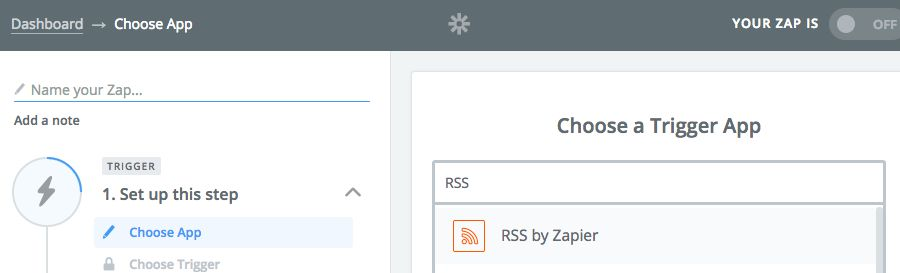 RSS by Zapier
