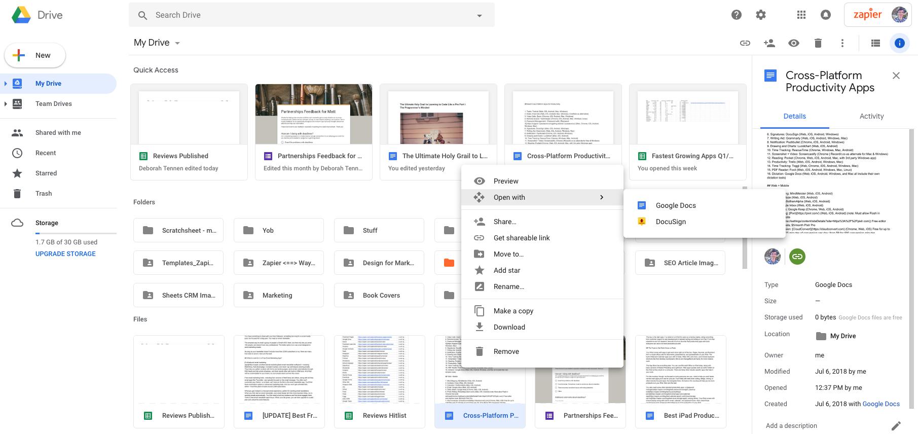 Ios pdf drive google as