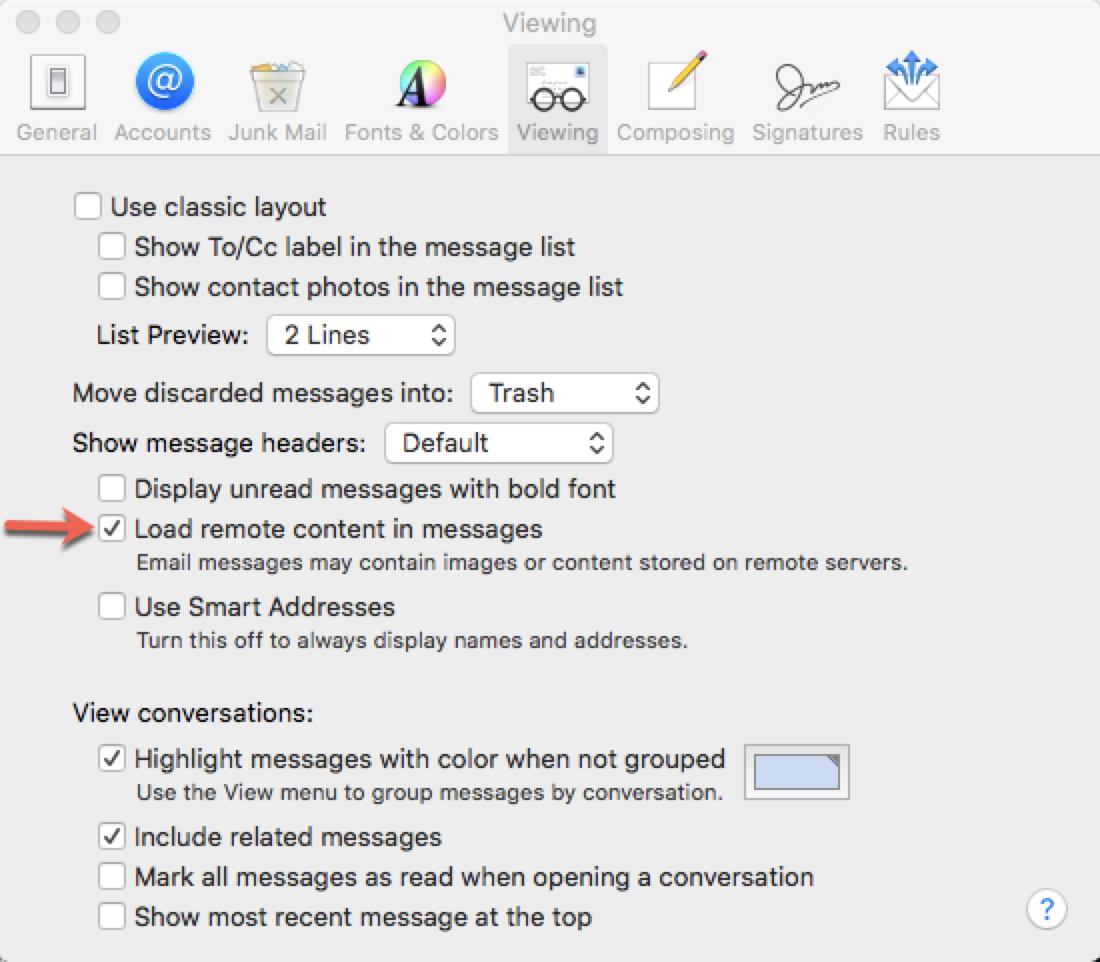 How do i block junk mail on mac