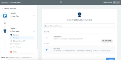 Image for Search Capabilities Now Available for Bitbucket Zaps